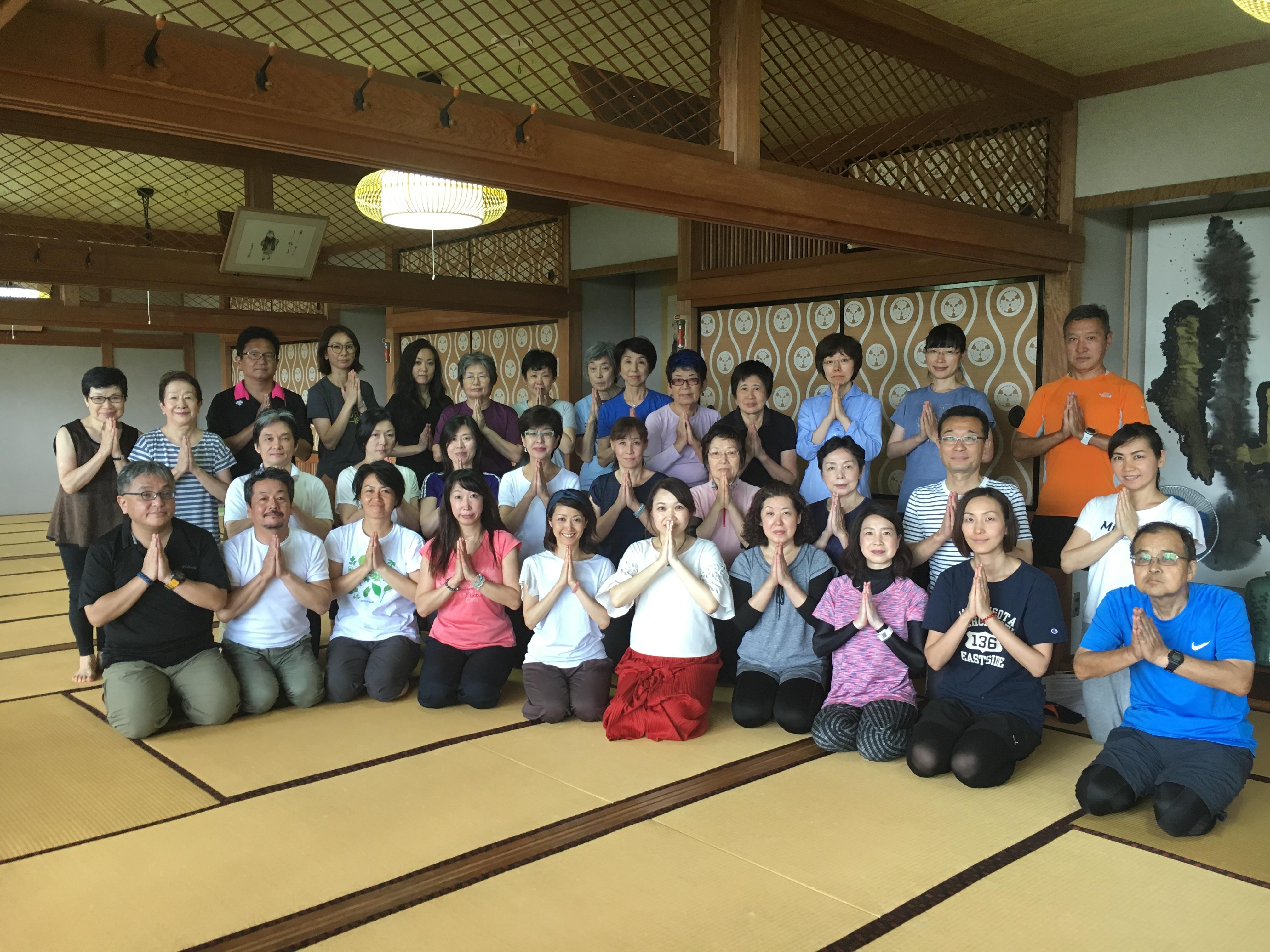 9月8日(土)高尾山寺ヨガ&浄化アップイベント終了