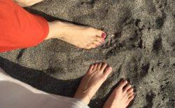 江ノ島で撮影とアーシングへ♪